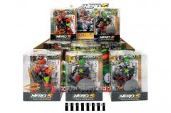 Transforming robot (box of 12 pieces) of 006-18