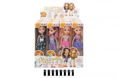 Набір ляльок милі дівчатка коробка 12 шт. мх168-12