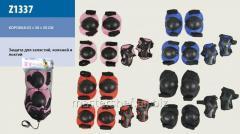 Защита z1337 (100шт) наколенники, налокотники, в