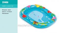 The pool of naduvniya 59406 (24 pieces) a whale