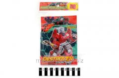 The robot - a transformer 613
