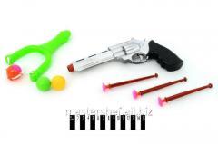 Рогатка детская + пистолет на присосках 8812-7, в