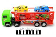 Детский Автотрейлер с машинками rj6603, в слюде: 34,5х9,3х13 см