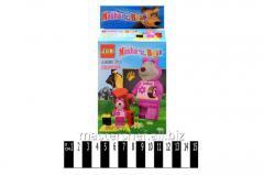 The designer Masha and bear, Brick, 3d24901-24904