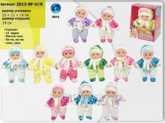 Baby doll lyalya 2013-8f-u/r, musical, 12 types,