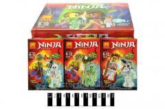 Конструктор Brick ninja , 79157, в коробке: 8х4х11,5 см
