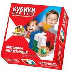 The training game Technique Nikitinykh Kubiki for