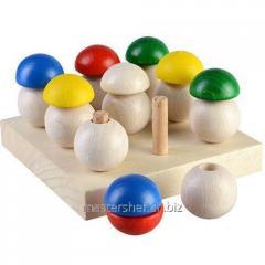 Game Mushroom glade, 9 hats, TATO