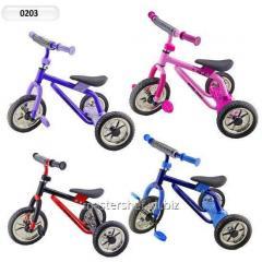 Велосипед 3-х колес 0203 (203) (4шт) super trike , 4 цвета