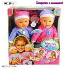 Baby doll functional 0813p-1 (5370) (6 pieces)