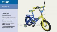 Велосипед 2-х колесный, 16 151613, со звонком, зеркалом, ручным тормозом