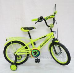 Велосипед 2-х колесный, 18 151805, со звонком, зеркалом, ручным тормозом
