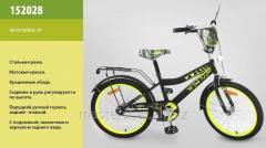 Велосипед 2-х колесный, 20'' 152028, со звонком, зеркалом, ручным тормозом