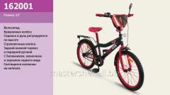 Велосипед 2-х колесный, 20'' 162001, со звонком, зеркалом, ручным тормозом