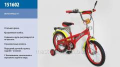 The bicycle 2-wheeled 16, 151602, with a call, a