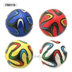 Ball football fb0119, pu, 3 layers, 330 g