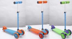Sc16003 scooter, aluminum + plastic, 3 wheels of