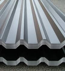 The professional flooring is galvanized