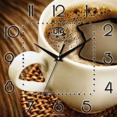 Wall clock of UTA COFFEE CUP
