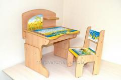 School desk + chair Ukraine