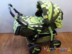 Universal baby carriages with a cradle, for the