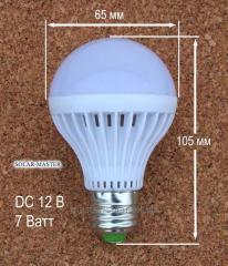 Светодиодные лампочки - DC 12Вольт 7 Ватт патрон