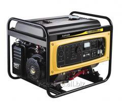 Gasoline-driven generator Kipor KGE6500E