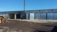 Wood heat treatment chambers