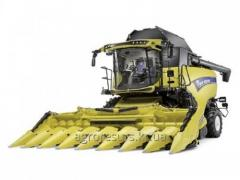COMBINE HARVESTER NEW HOLLAND CR 9.80