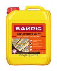 Ognebiozashchita for constructional AGNI-1 wood