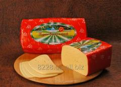 Cheese of firm abomasal Bukovinsky 45% of fa
