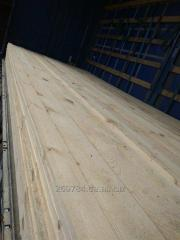 Board, shalevka, bar (pine). Export.