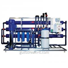 Industrial system of the return osmosis MO-9 (9-11
