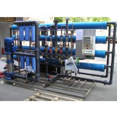Industrial system of the return osmosis MO-12