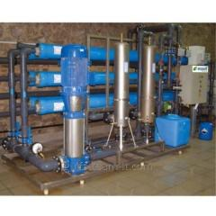 Industrial system of the return osmosis MO-20 (20-22 m3/h)