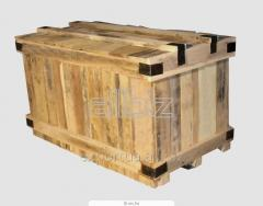 Boxes tare of softwood for export