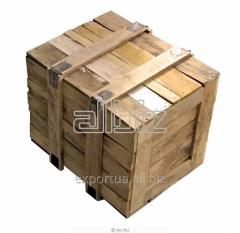 Storage boxes of softwood for export