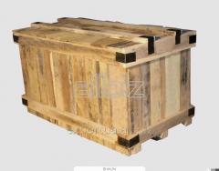 Packing made of softwood for export