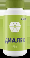 Диалек – пищевая добавка от диабета