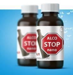 Препарат для избавления от алкозависимости Alco Stop nano алко стоп нано