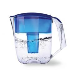 Filter jug our Luna Water blue