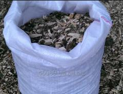 Softwood and hardwood wood chips