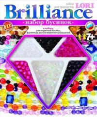 Набір бусинок brilliance (середній) бурштиновий блюз