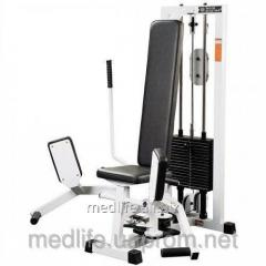 The exercise machine for bringing and taking away