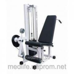 The exercise machine for hip muscles the combined