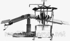 Стол операционный c ручным управлением СОУр-1