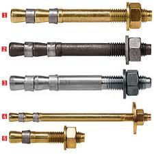 Anchor bolt a two-expansion, Anchor bolt, an