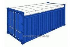 Специальный контейнер 20-футовый Open Top