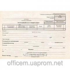 Form account cash warrant, A5, offset., (100 l.)