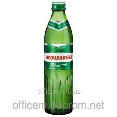Mineral water slabogaz. (0,5 l), Glass